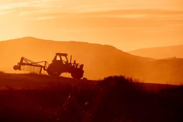 tractor de agricultor